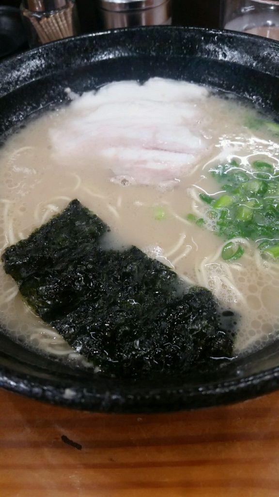 ラーメンセンター筑紫野本店へ。マイルドスープ